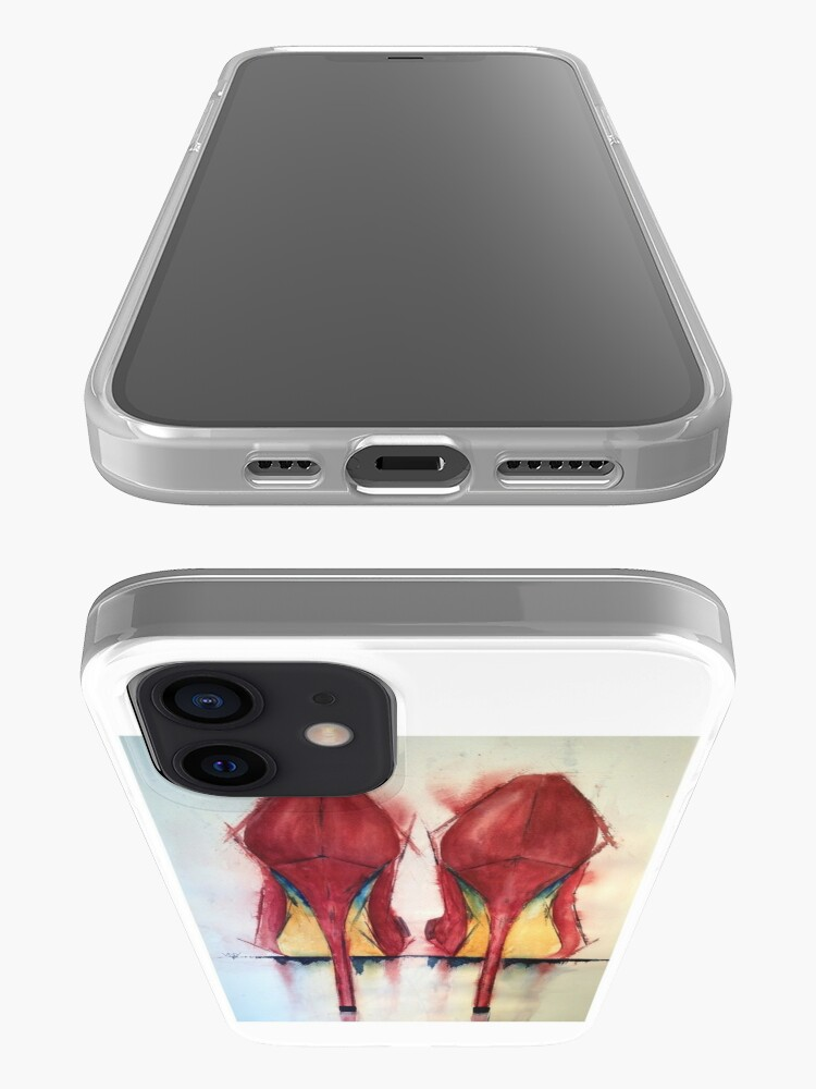 Alternate view of Red Shoes - Girls' Best Friends iPhone Case & Cover