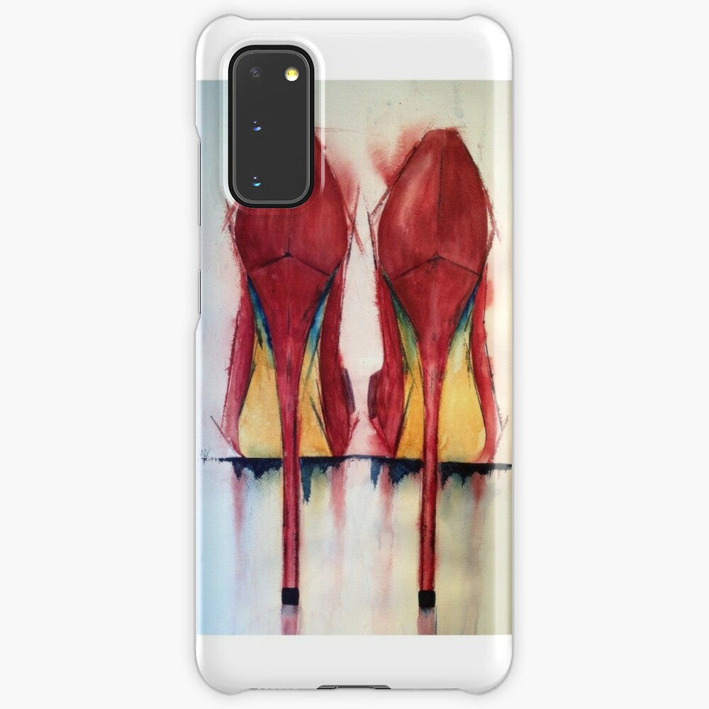 Red Shoes - Girls' Best Friends Case & Skin for Samsung Galaxy