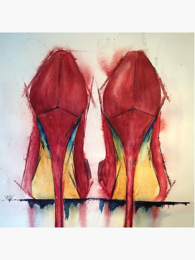 Red Shoes - Girls' Best Friends by VandyM