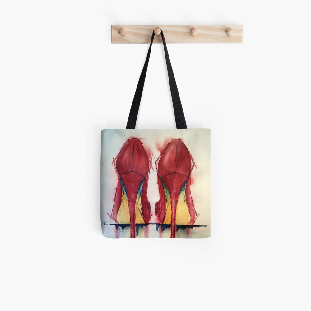 Red Shoes - Girls' Best Friends Tote Bag