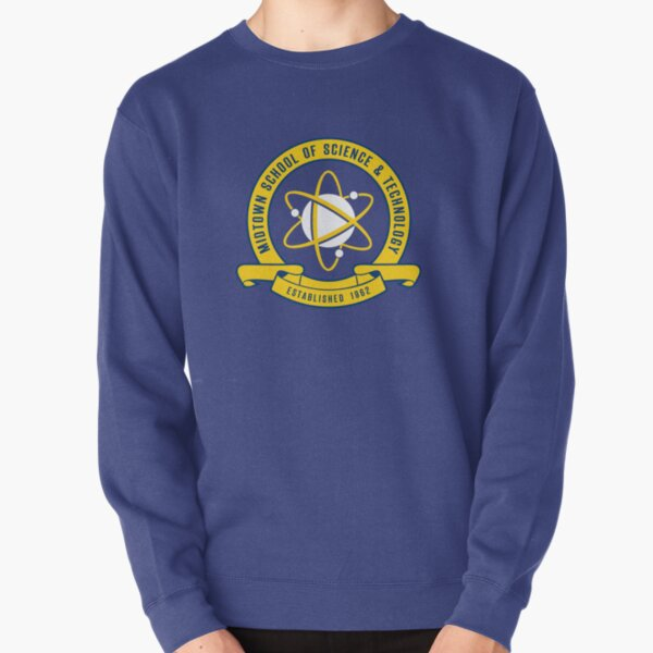 Midtown School of Science & Technology (No Background) Pullover Sweatshirt