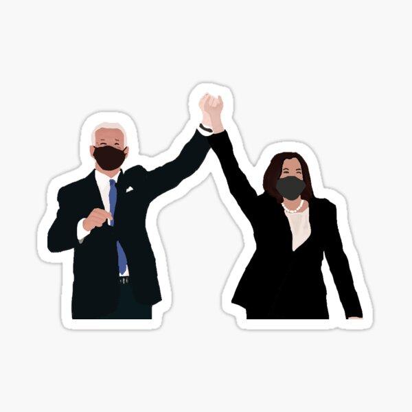 BIDEN HARRIS DRAWING 2020 Sticker