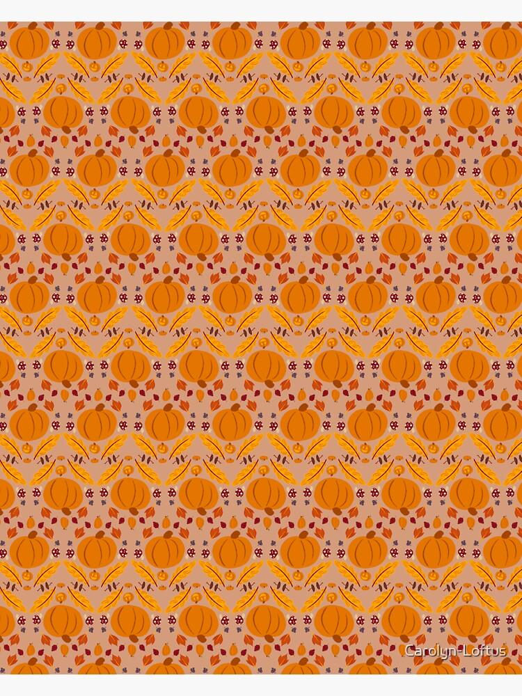 Falling for Autumn-Main Pattern by Carolyn-Loftus