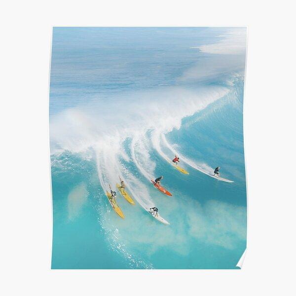 Summer Full of Surfing Poster