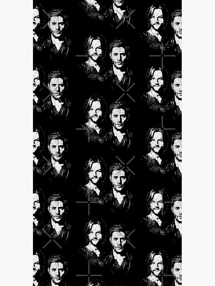 Sam and Dean by huckblade