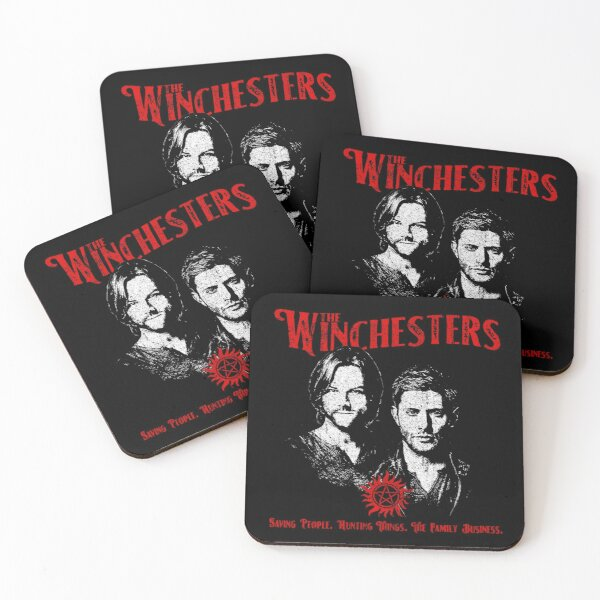 The Winchesters Coasters (Set of 4)