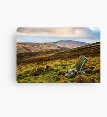 Hedgehope Hill - Harthope Valley Canvas Print