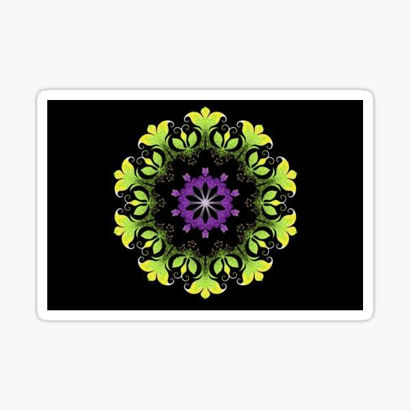 Filigree Flower Sticker