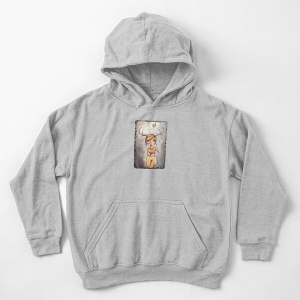 She's Such A Dear Deer Kids Pullover Hoodie