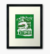 It's Morphin' Time (Green) Framed Print