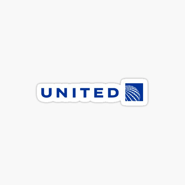 Best Selling - United Airlines Logo Sticker