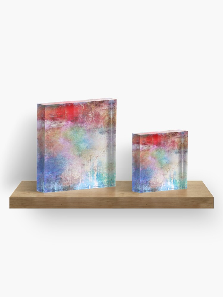 Alternate view of Abstract Painting  Acrylic Block