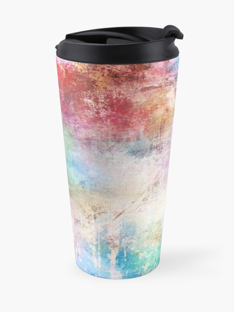 Alternate view of Abstract Painting  Travel Mug