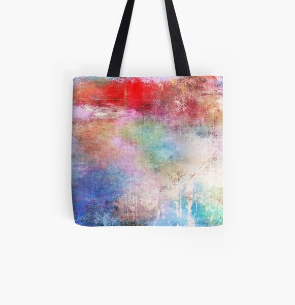 Abstract Painting  All Over Print Tote Bag
