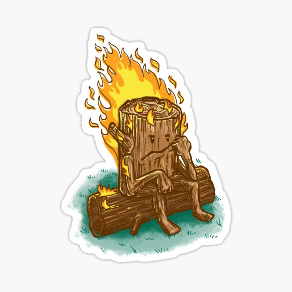 Bad Day Log Sticker