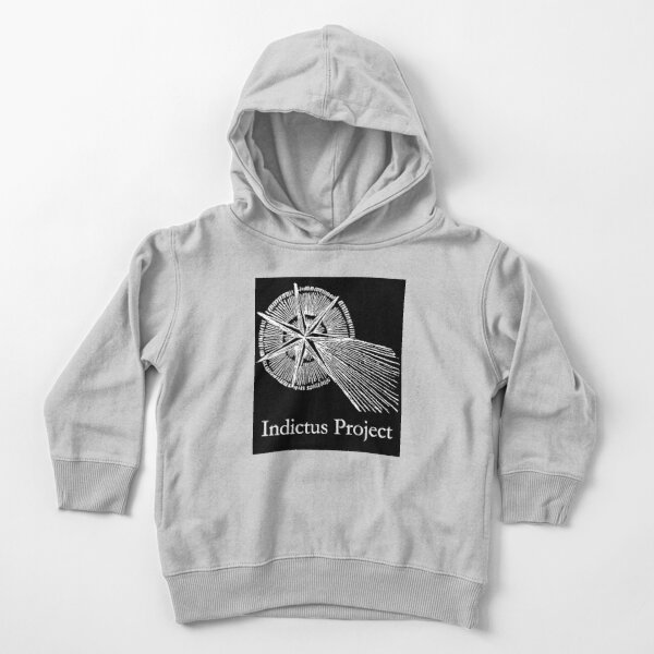 CANDOR ILLAESUS with large text, inverse Toddler Pullover Hoodie