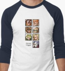Heroes in Time Men's Baseball ¾ T-Shirt