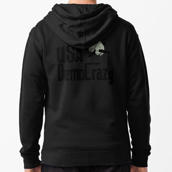 The United States is Unraveling Zipped Hoodie