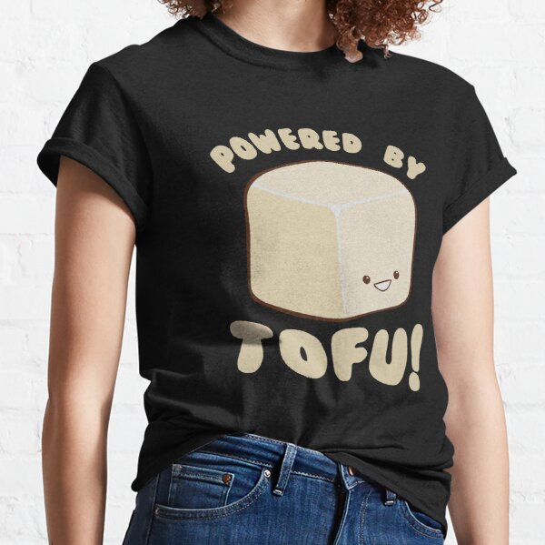 Powered by Tofu Vegan Classic T-Shirt