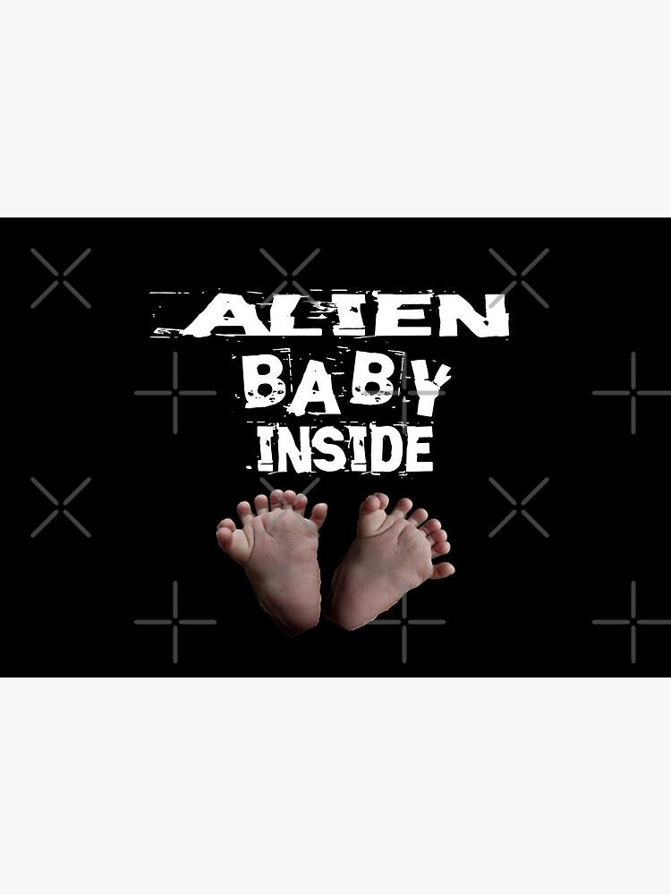 Alien Baby Inside Design  by Mbranco
