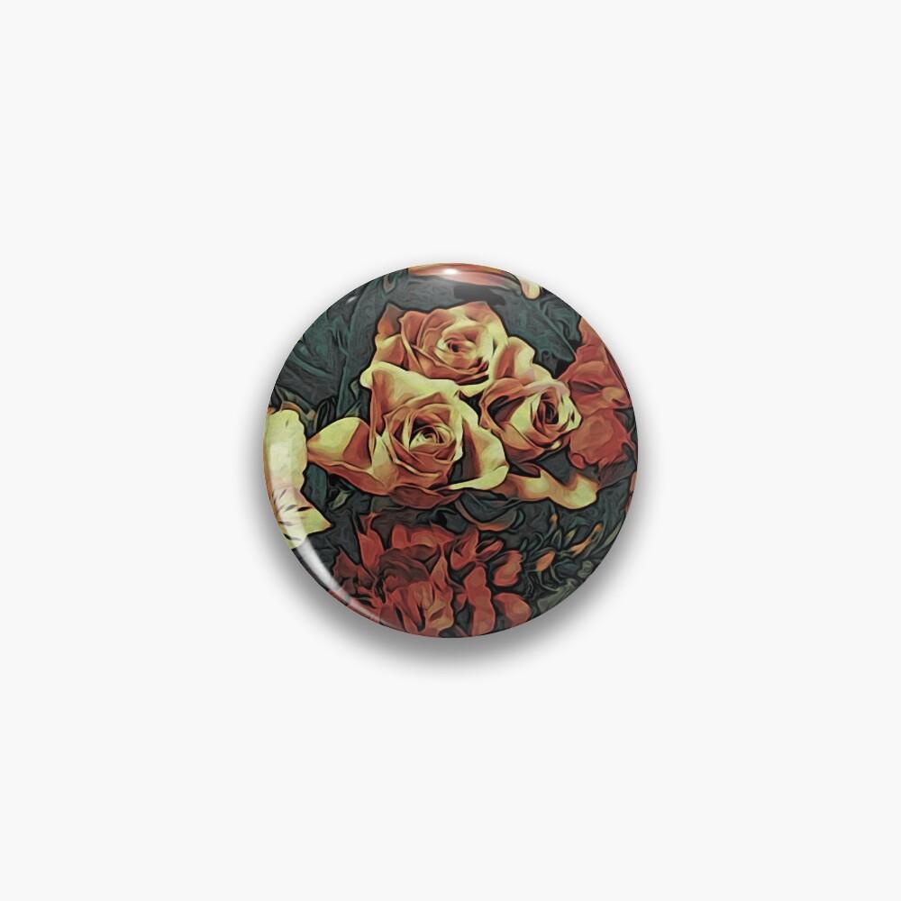 Floral Gift Idea - Vintage Bouquet Pin
