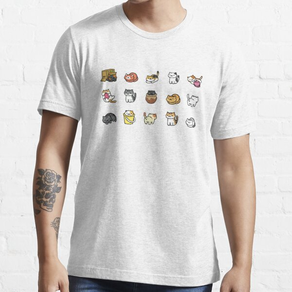 Neko Atsume T-shirt essentiel