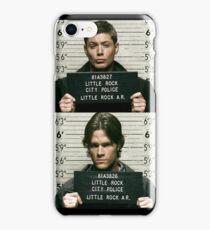 Sam and Dean Mugshots iPhone Case/Skin