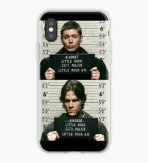 Sam and Dean Mugshots iPhone Case