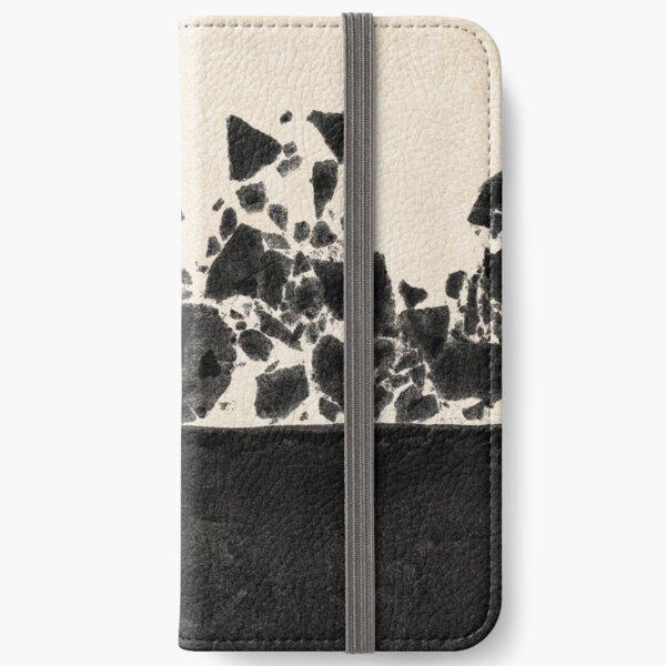 NOIR ABSTRACT / Crack iPhone Wallet