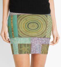 Bullseye Quilt Mini Skirt