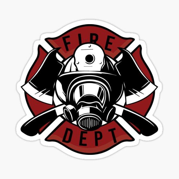Firedept Fire Rescue Sticker