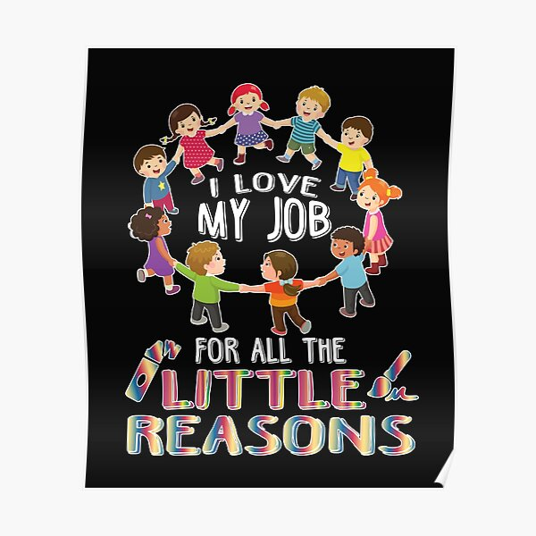 Daycare Teacher Posters Redbubble