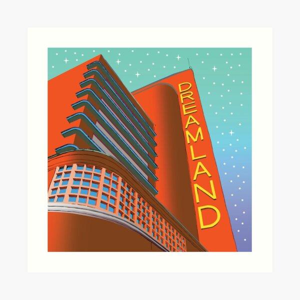 Dreamland Amusement Park, Margate, Thanet, Kent, England UK Art Print