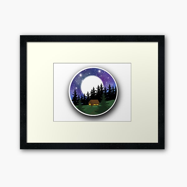 Surrounded In Peace Framed Art Print