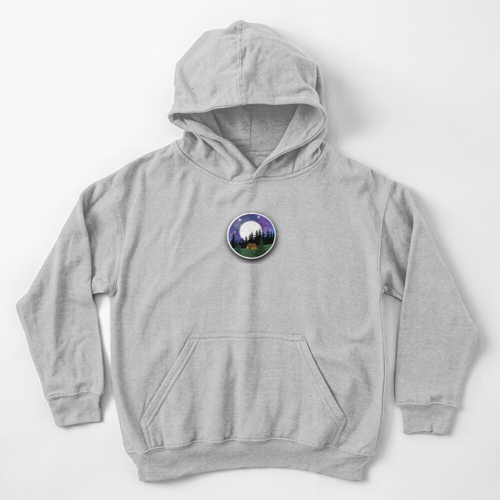 Surrounded In Peace Kids Pullover Hoodie