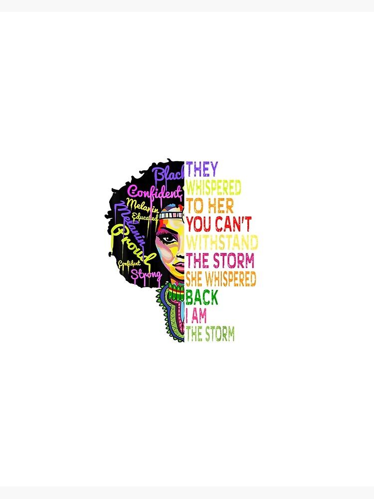 I Am The Storm Strong African Woman Mug Black People Coffee Mug Black History...