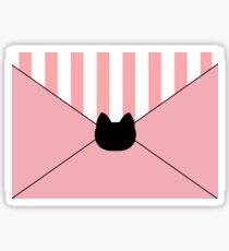 Bee and Puppycat Temp Work Assignment Horizontal! Sticker