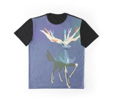 Xerneas Vector Minimalist Textured Edition Graphic T-Shirt