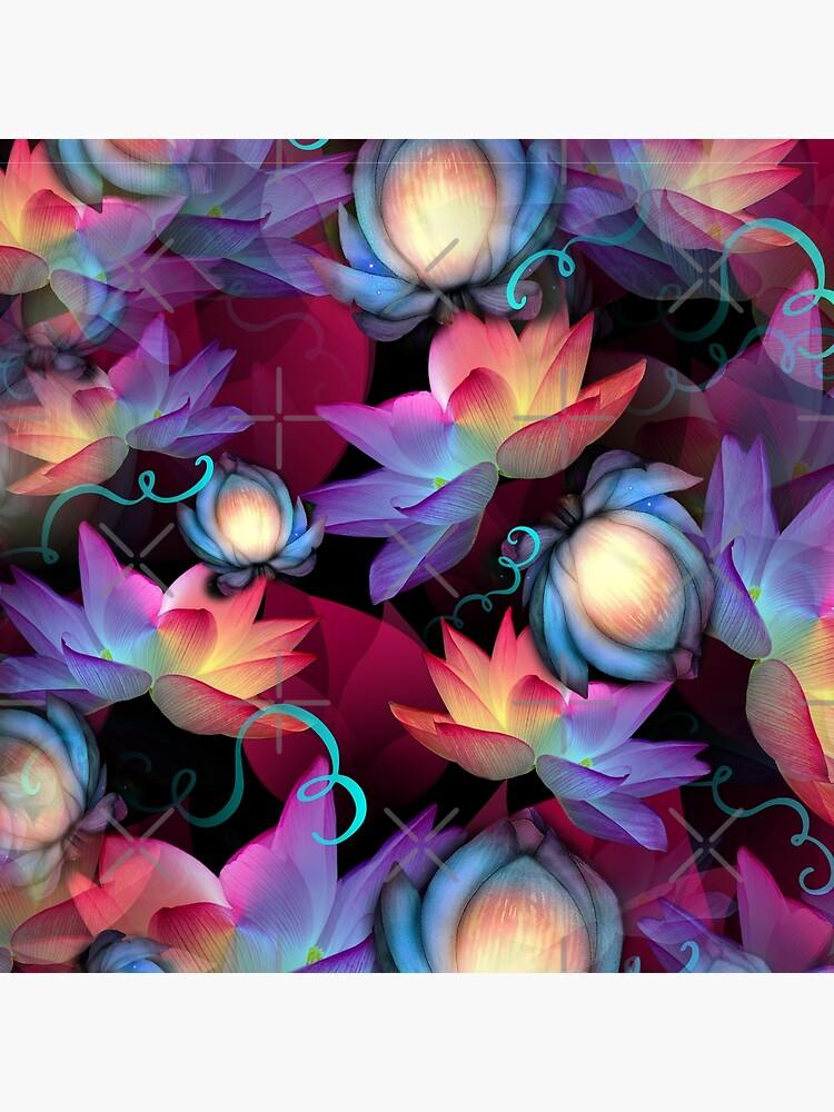 Moonlight Lotus by MyMadMerch