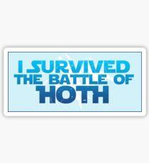 I Survived The Battle of Hoth Sticker
