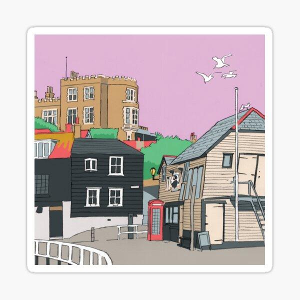Bleak House Broadstairs Thanet Beach Kent UK Sticker