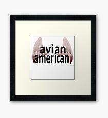 Avian American Framed Print