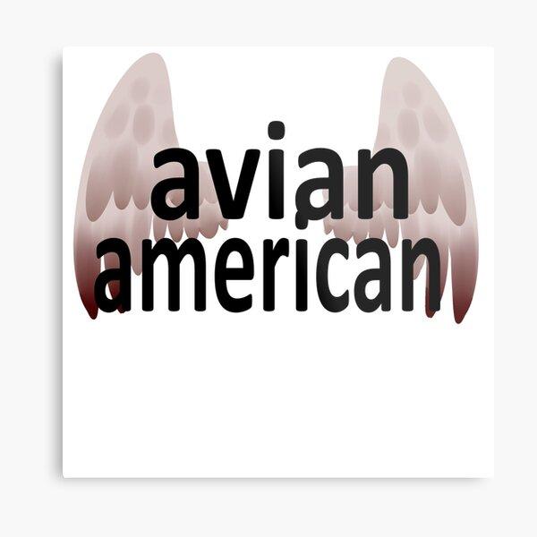 Avian American Metal Print