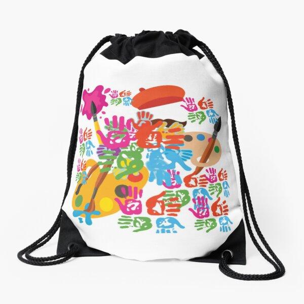 Colourfull life Drawstring Bag