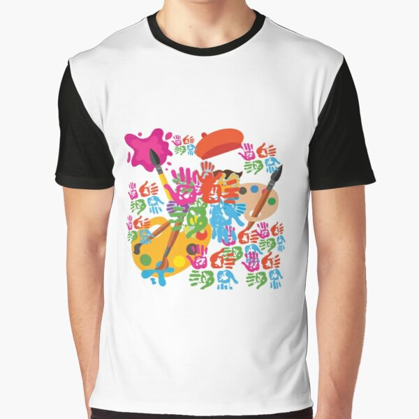 Colourfull life Graphic T-Shirt