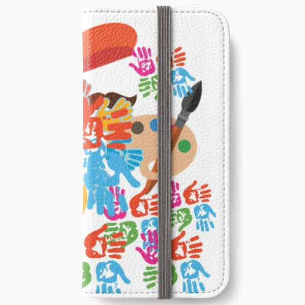 Colourfull life iPhone Wallet