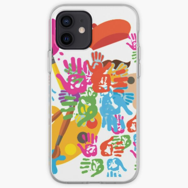 Colourfull life iPhone Soft Case
