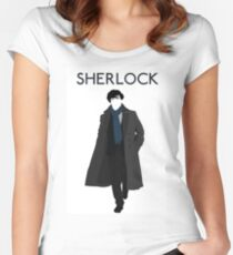 New Sherlock Holmes BBC 2016 Edition Women's Fitted Scoop T-Shirt