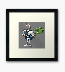0002 - Earthworm Jim Framed Print