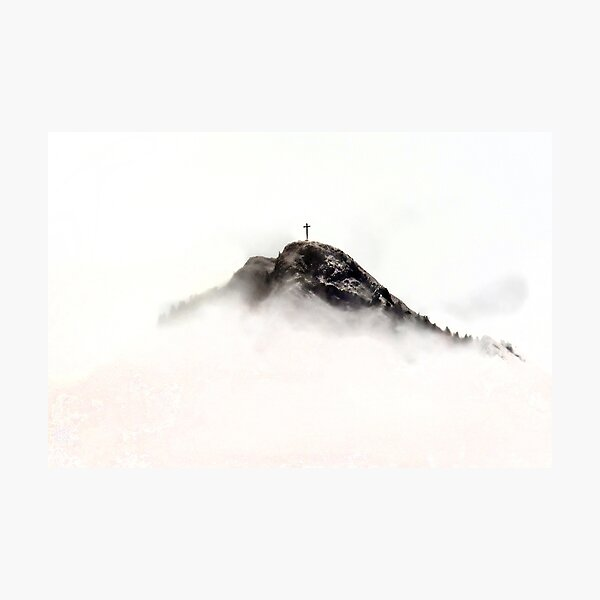Marcelly Peak Photographic Print